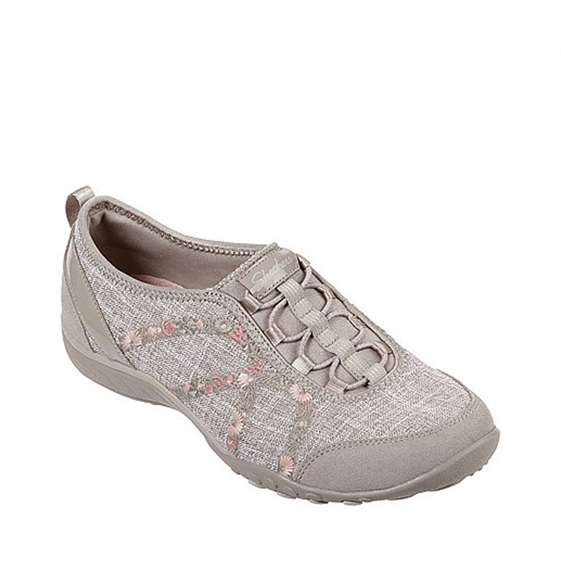 Skechers Relaxed Fit Breathe-Easy - Garden Joy - Taupe