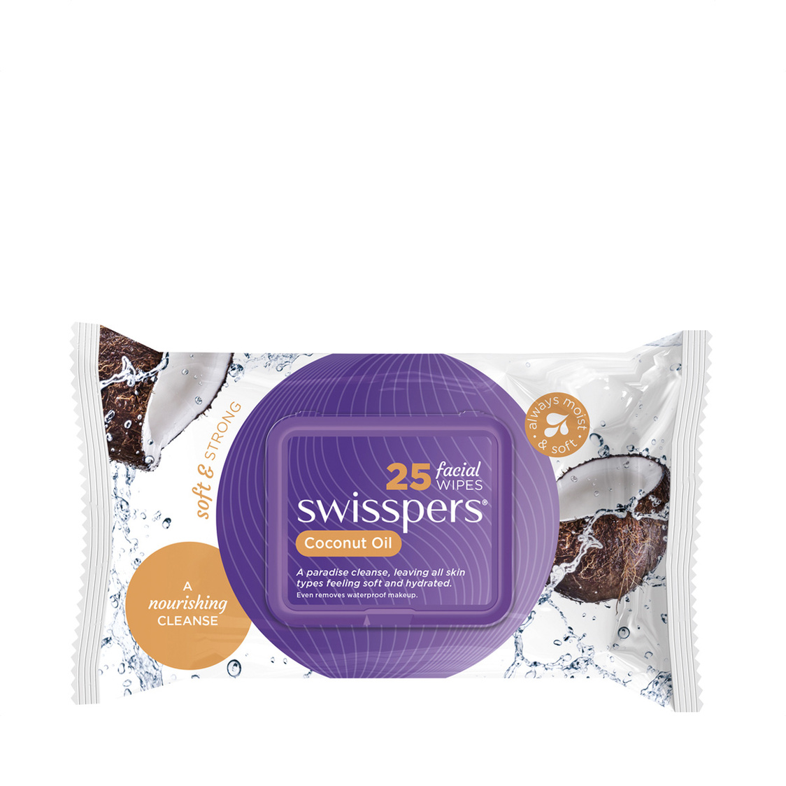 Swiss Wipes Coco Oil 25 Sheets