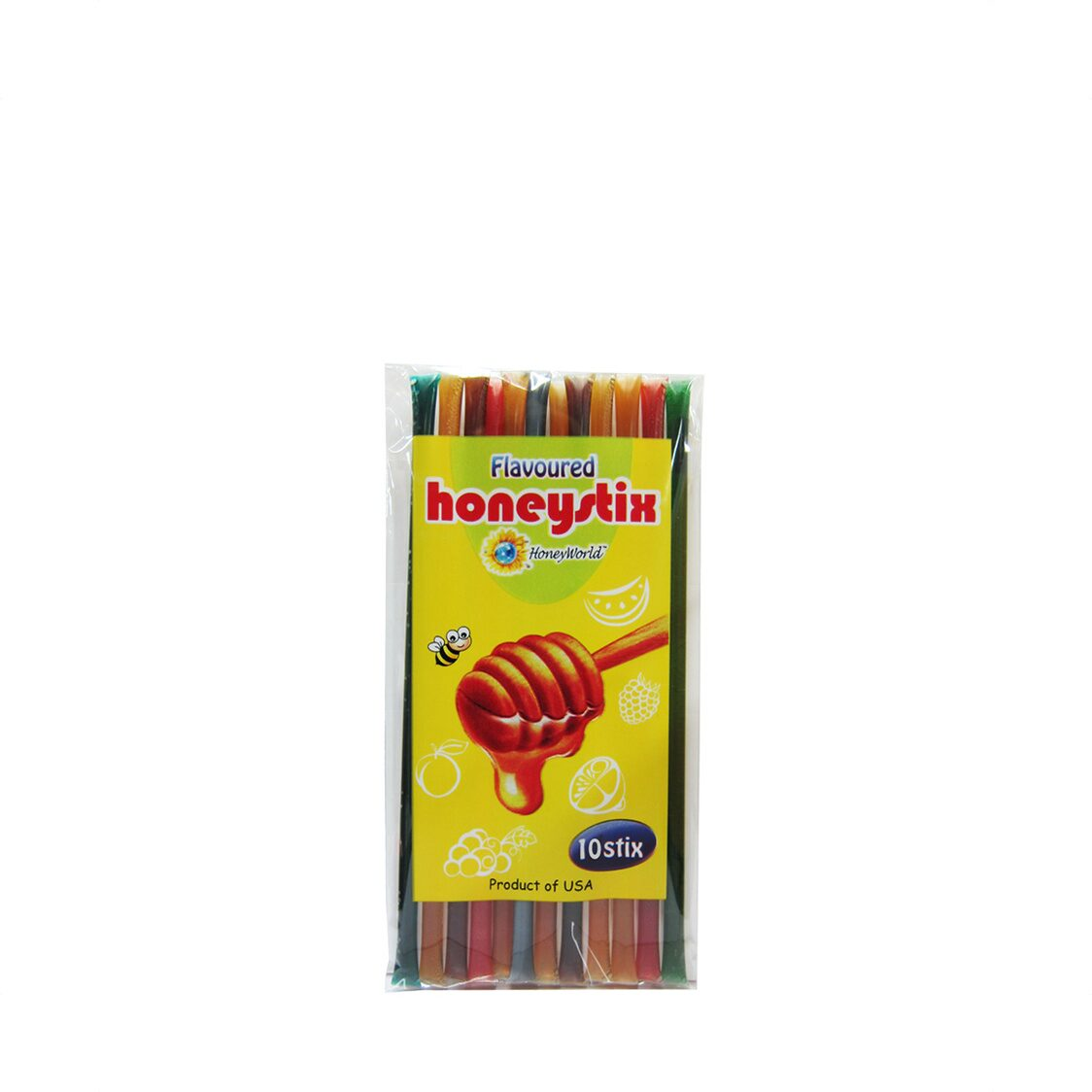 Honey World Honeystix 10stix Flavoured