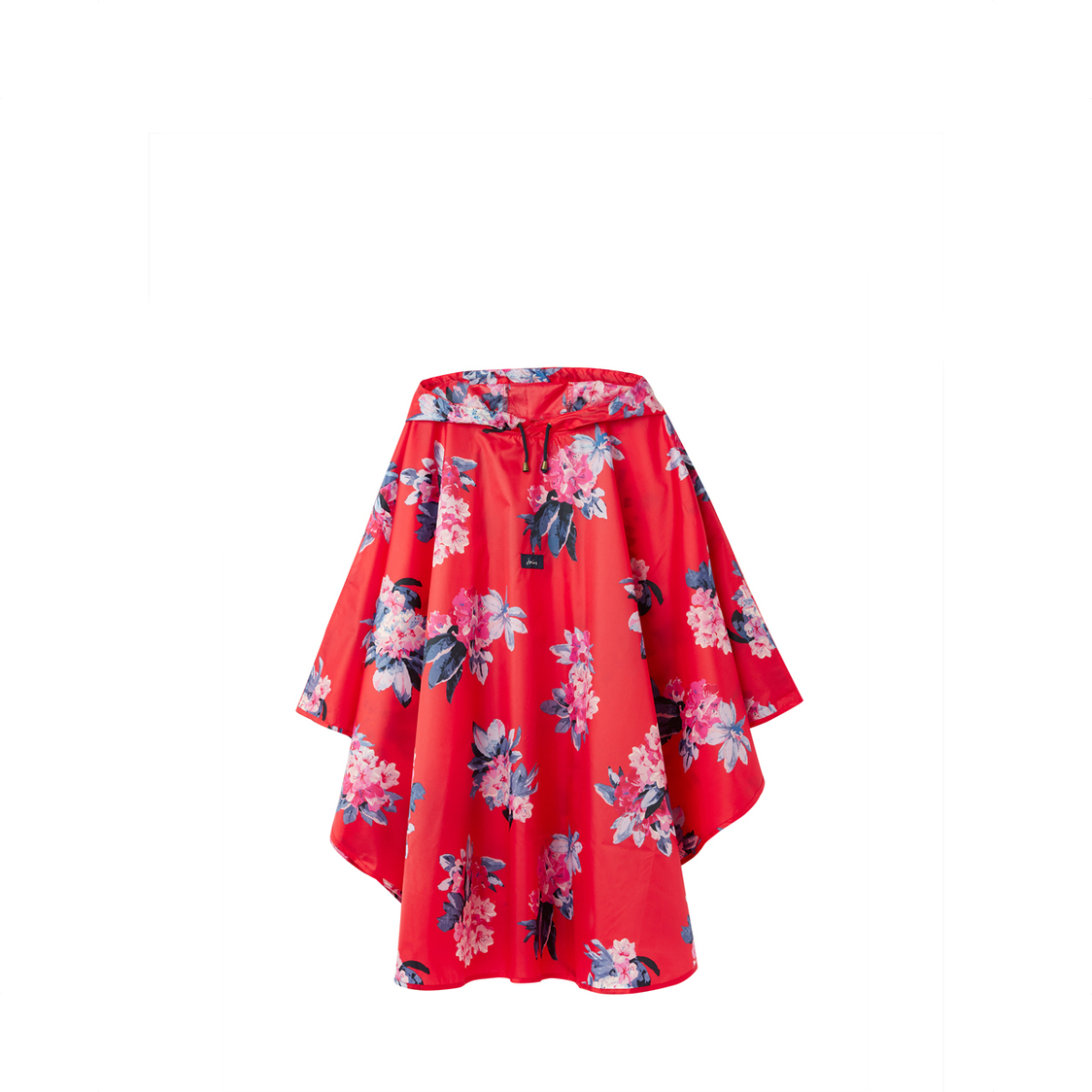 Tom Joule Poncho Showerproof Cover Up Floral Red