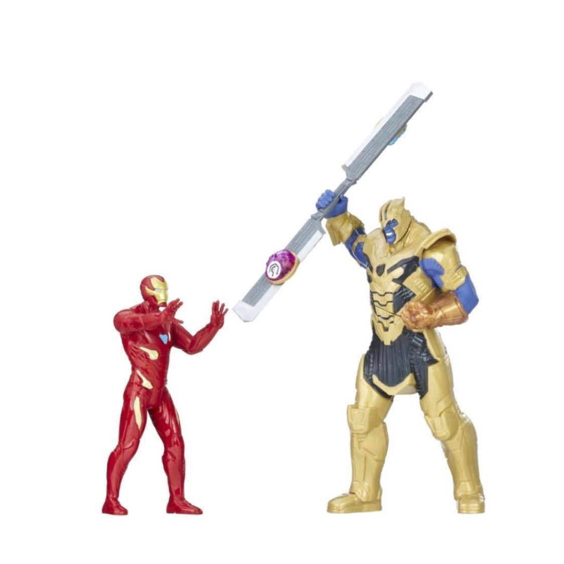 Marvel Avengers Infinity War Iron Man vs Thanos Battle Set