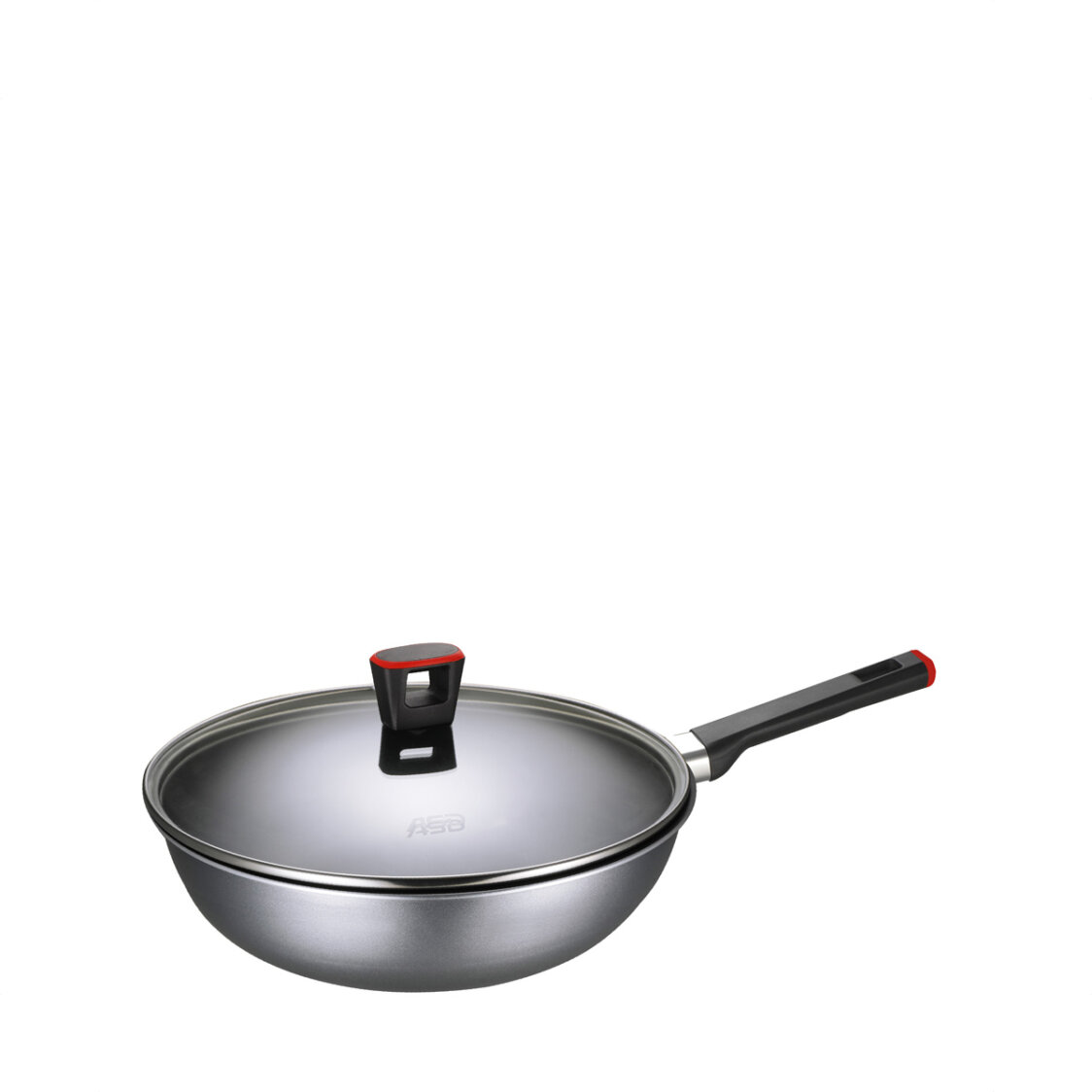 ASD Gusto Red 28cm Non-Stick Stirfry Pan