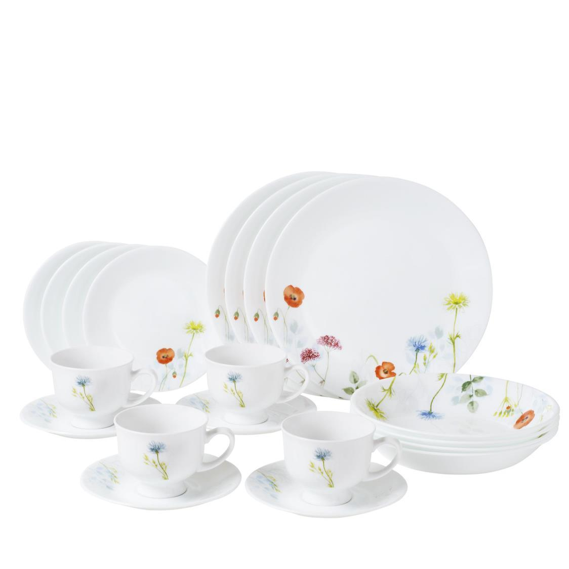 20pc Dinner Set Daisy Field