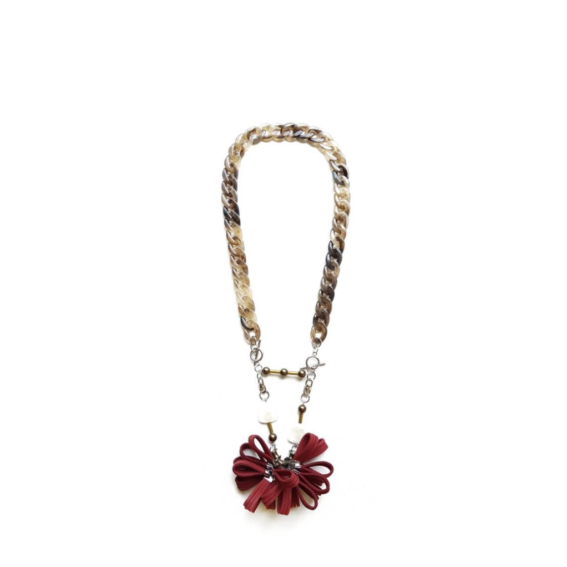 FREDA Necklace RED