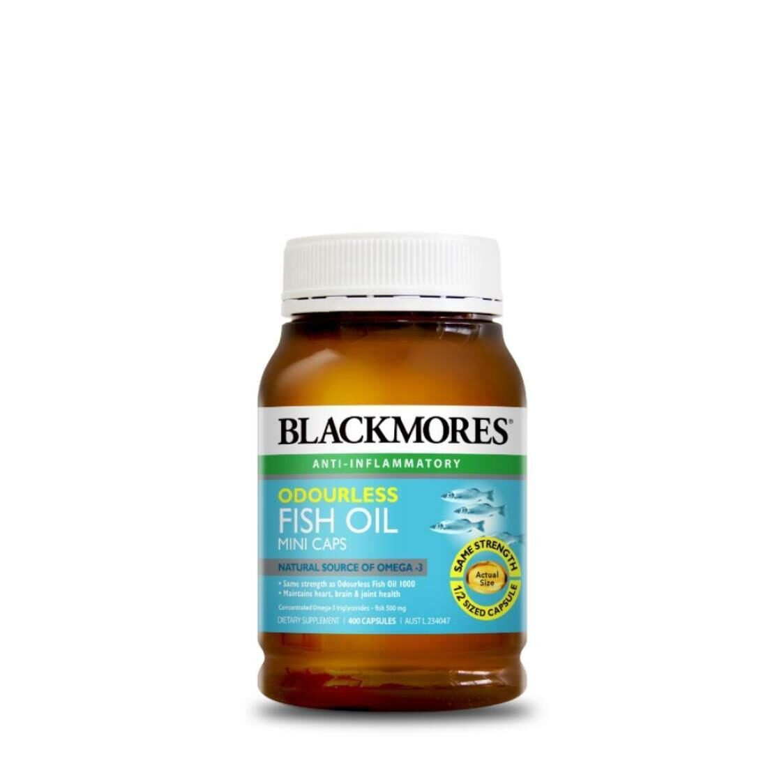 Odourless Fish Oil Mini 400s