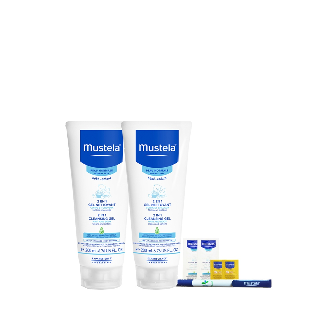 2 in 1 Cleansing Gel Twin Pack