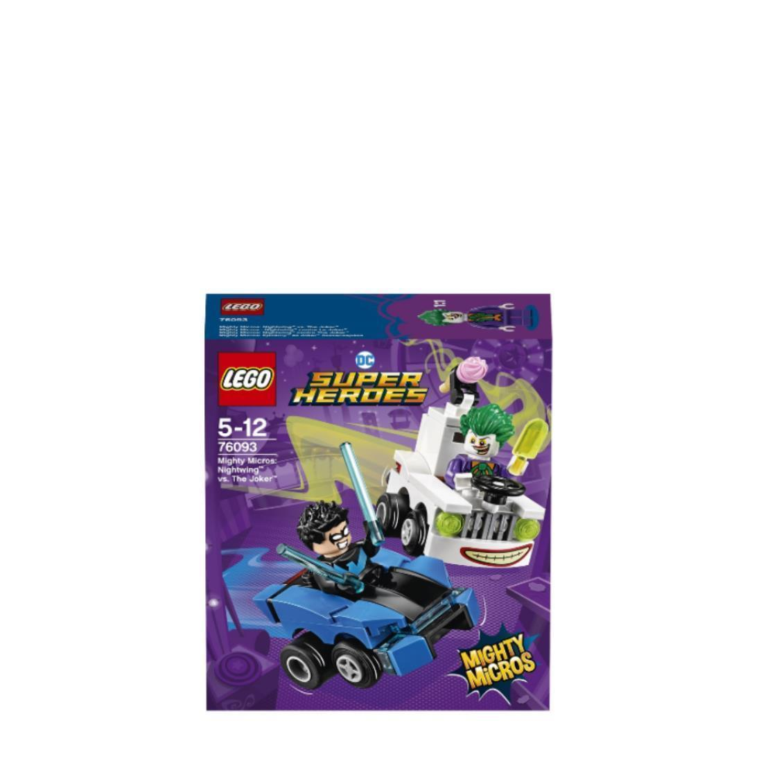 Mighty Micros Nightwing Vs The Joker 76093