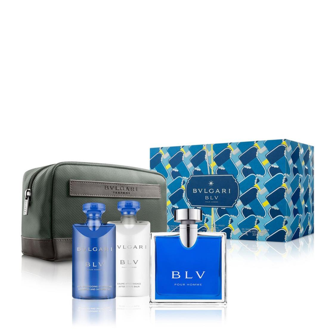 BLV Pour Homme EDT Pouch Spring19 Set 100ml