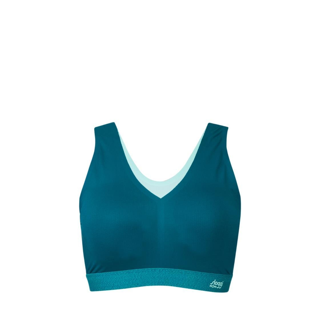 sloggi mOve FLOW Light Top Turquoise Dark Combination M