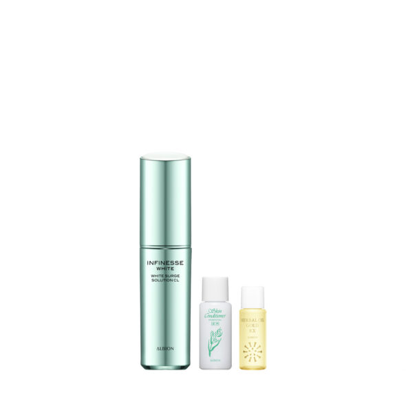Albion INFINESSE WHITE White Surge Solution CL set worth 194