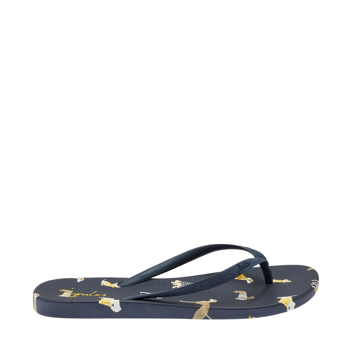Flip Flops With Moulded Footbed Navy Dogs