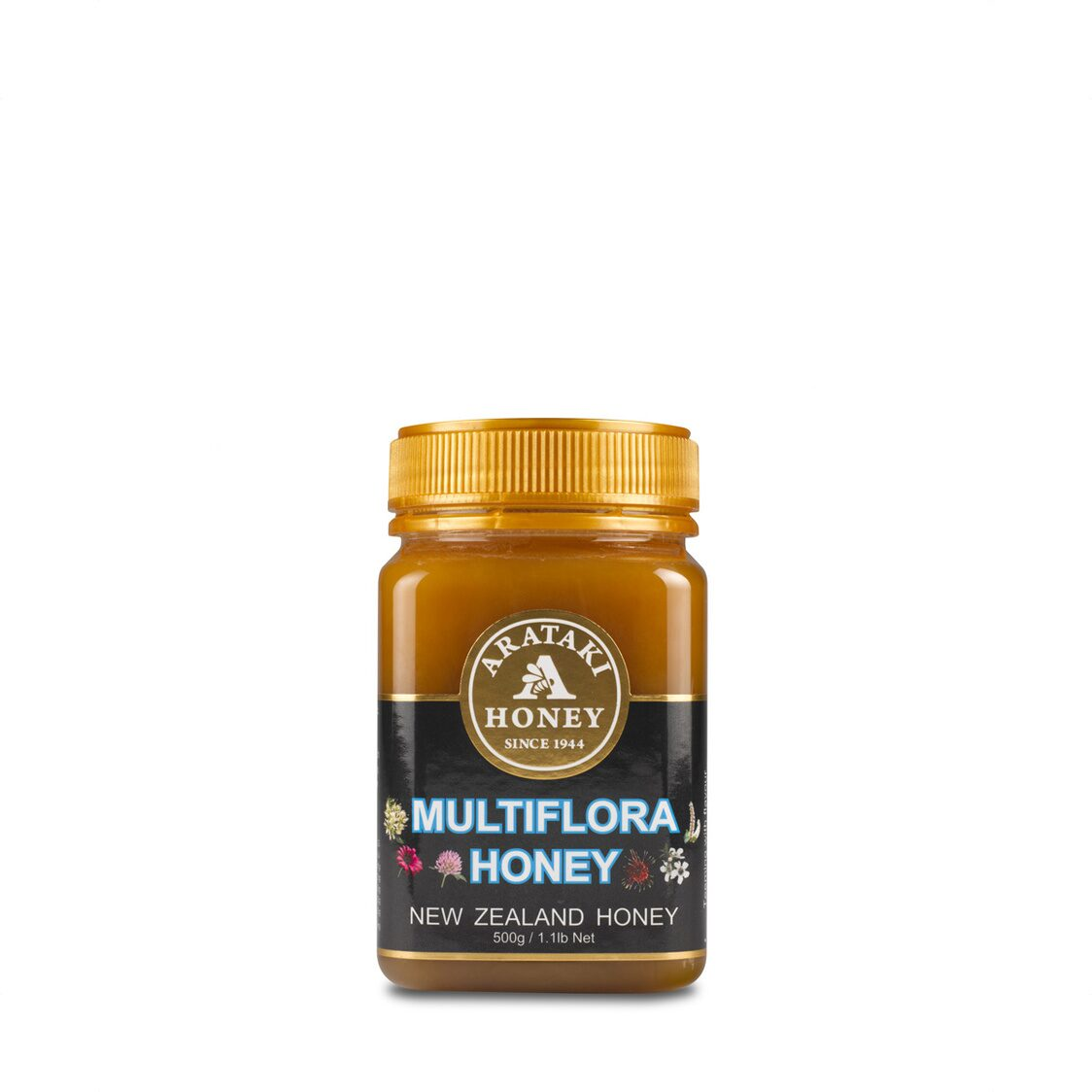 Multi-Flora Creamed Honey