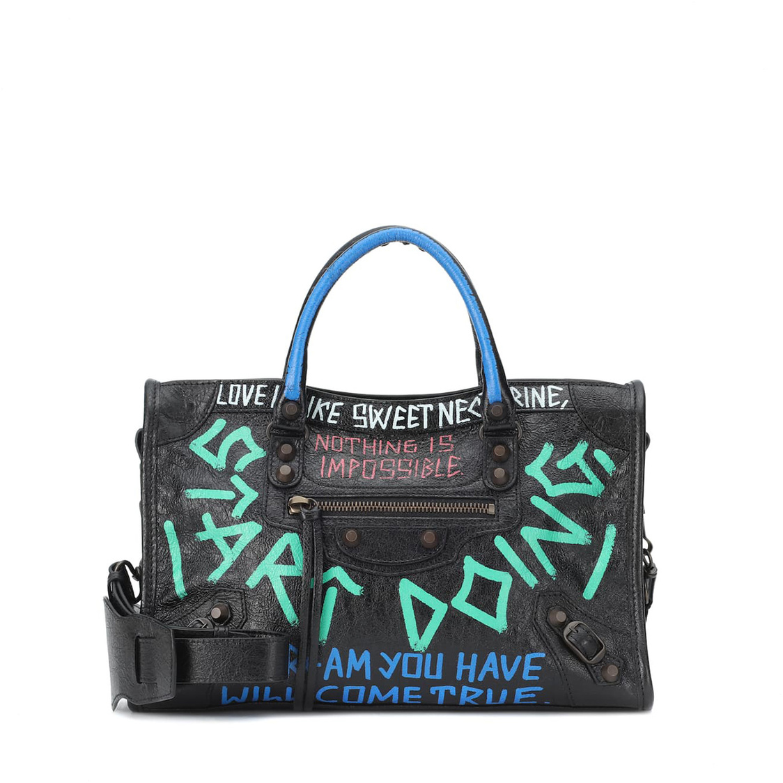 Balenciaga Graffiti Classic City Bag