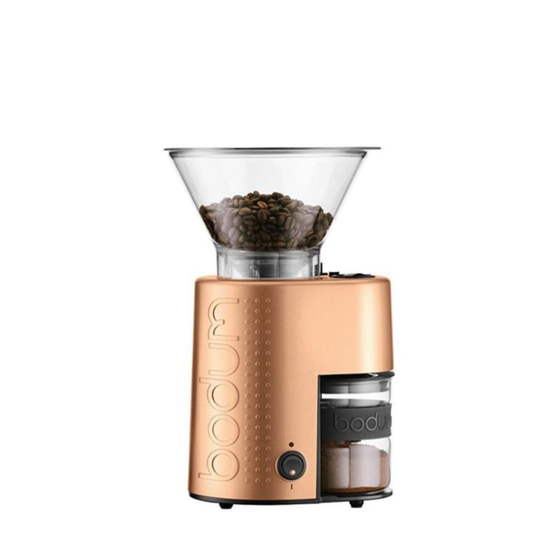 Bistro Burr Coffee Bean Grinder Gold