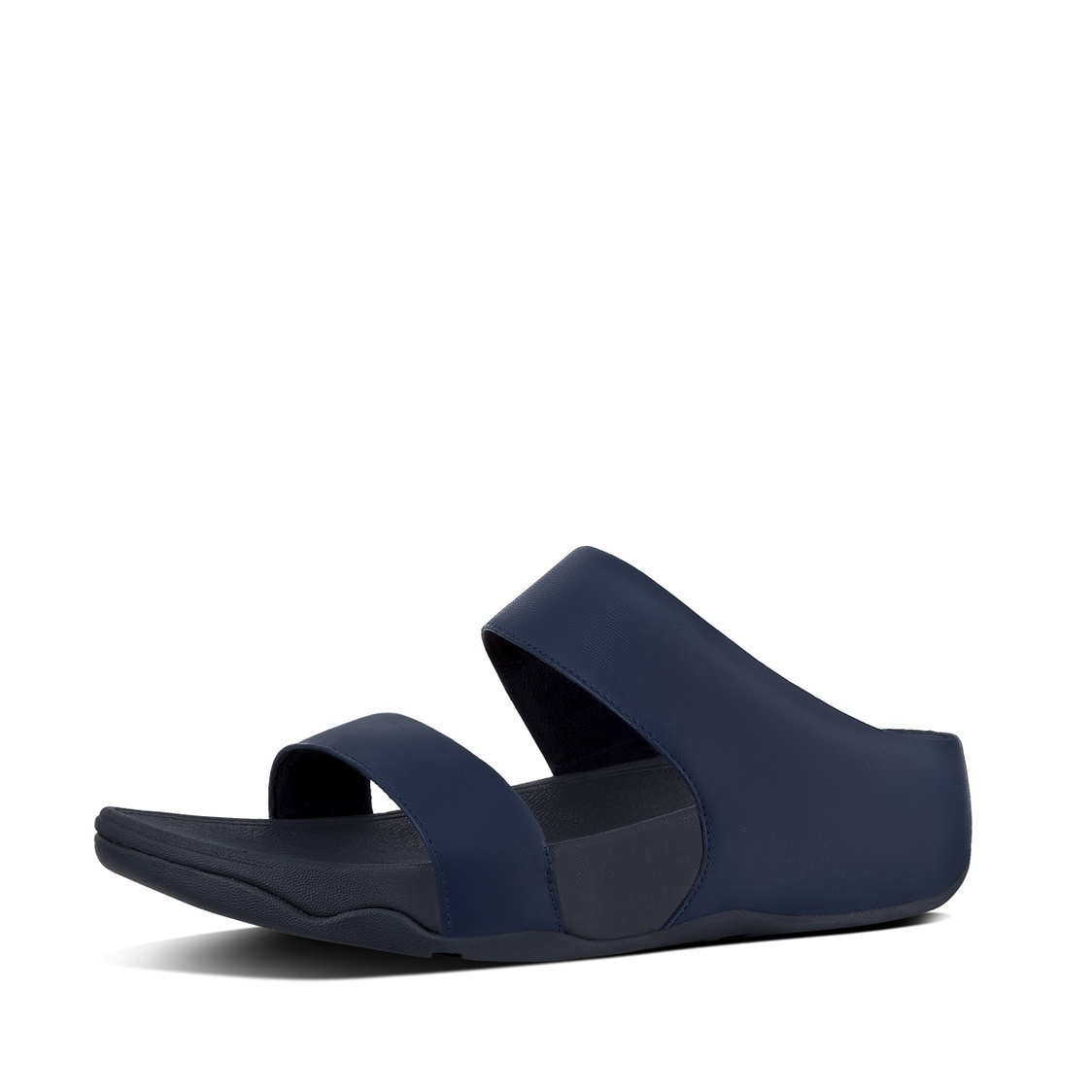 Lulu Leather Slide Sandals