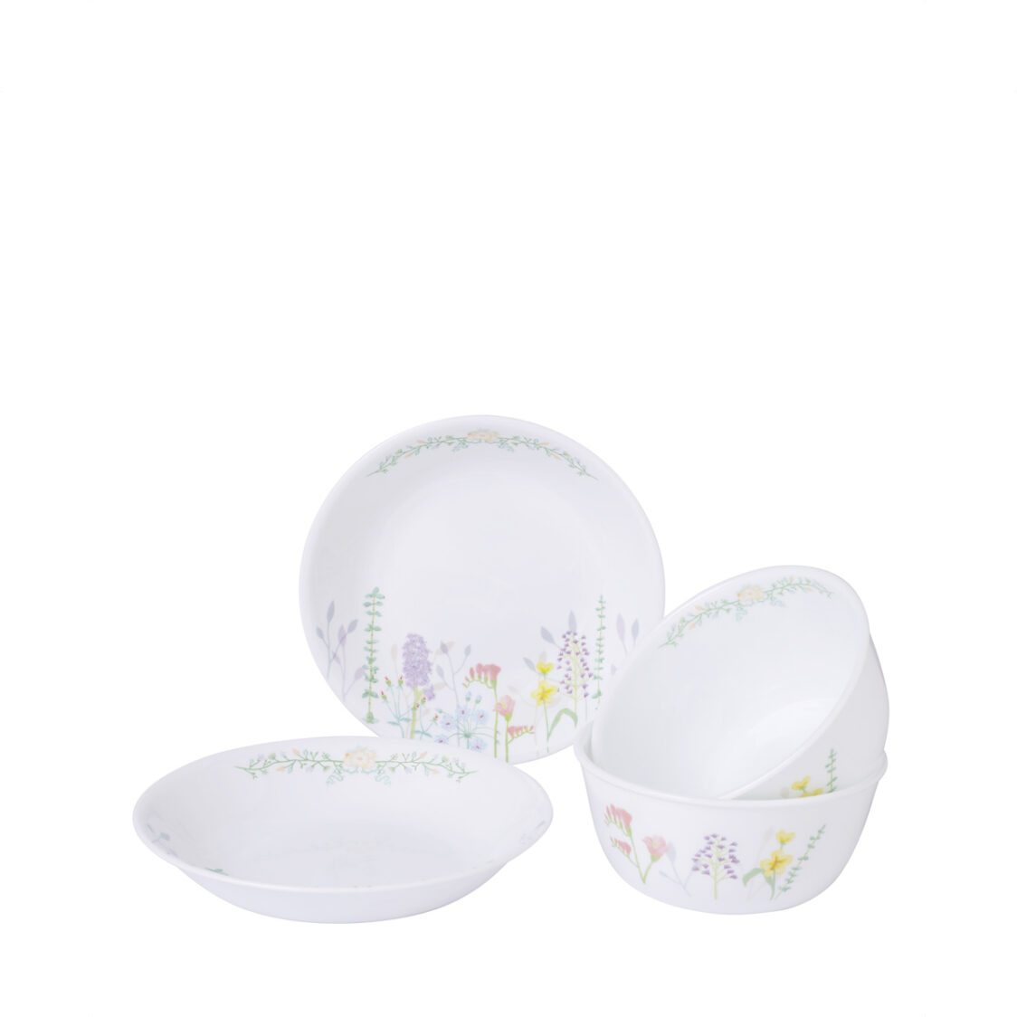 Corelle 4pc Starter Set Blooms