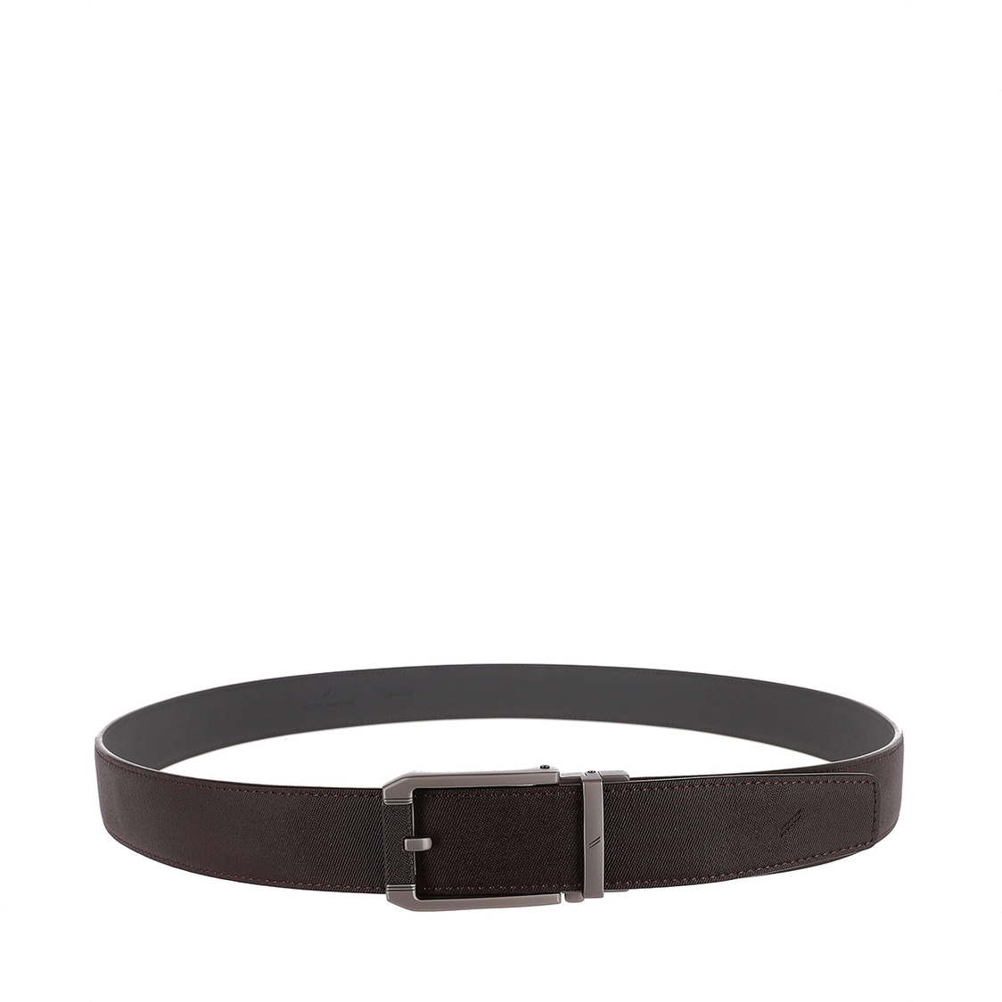 Slim Auto Lock Belt 125cm in Brown
