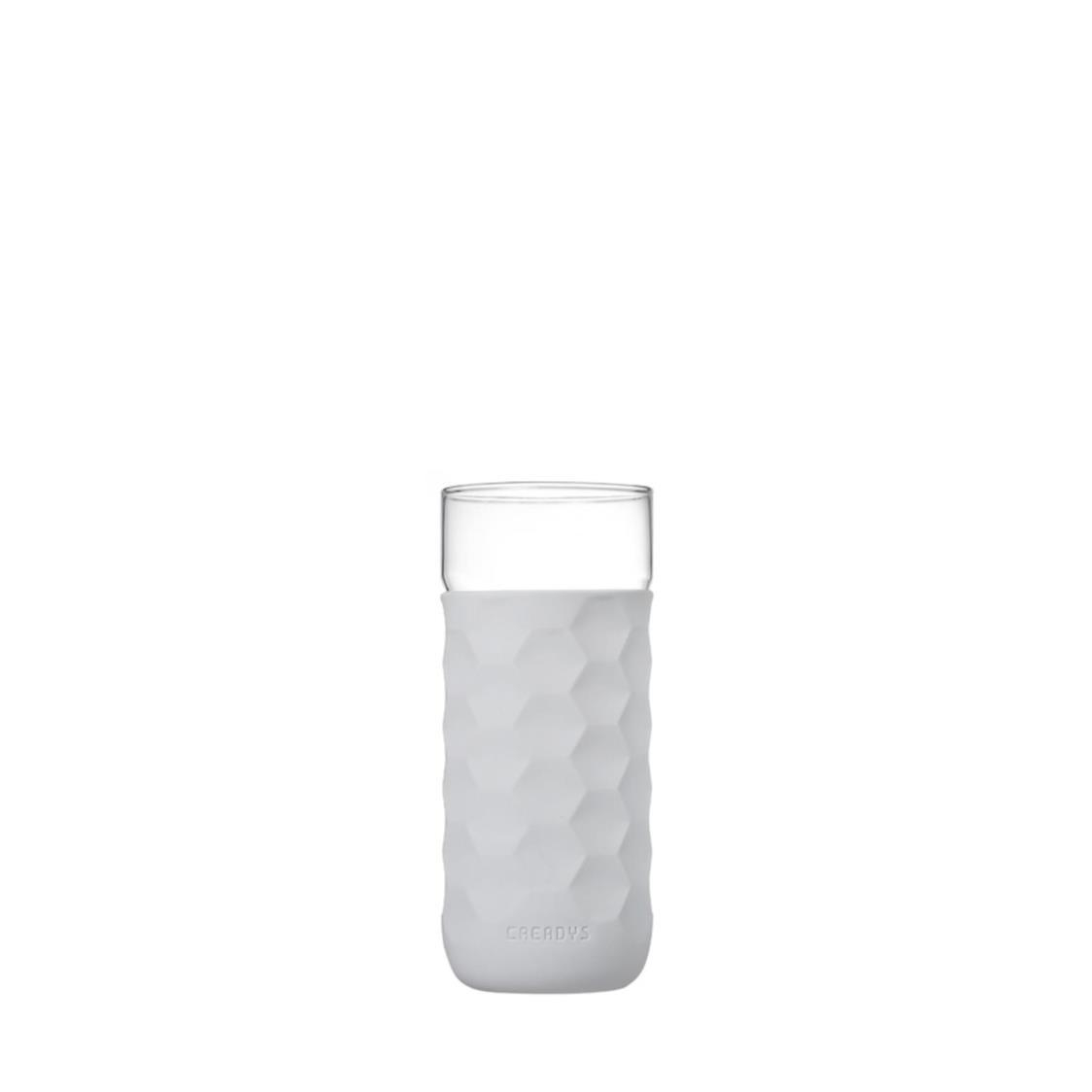Honey Comb Tumbler Grey 380mlSet of 4