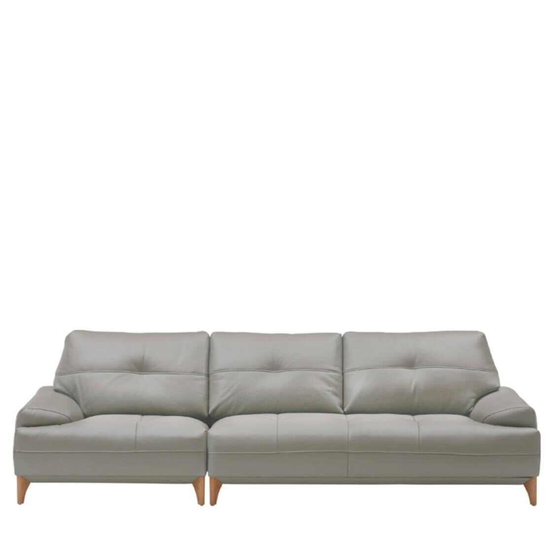 Boston Leather Sofa For 4  L391C Cloud