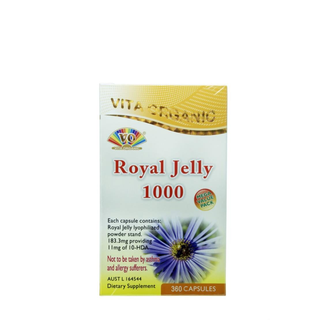 Royal Jelly 1000 365 Capsules
