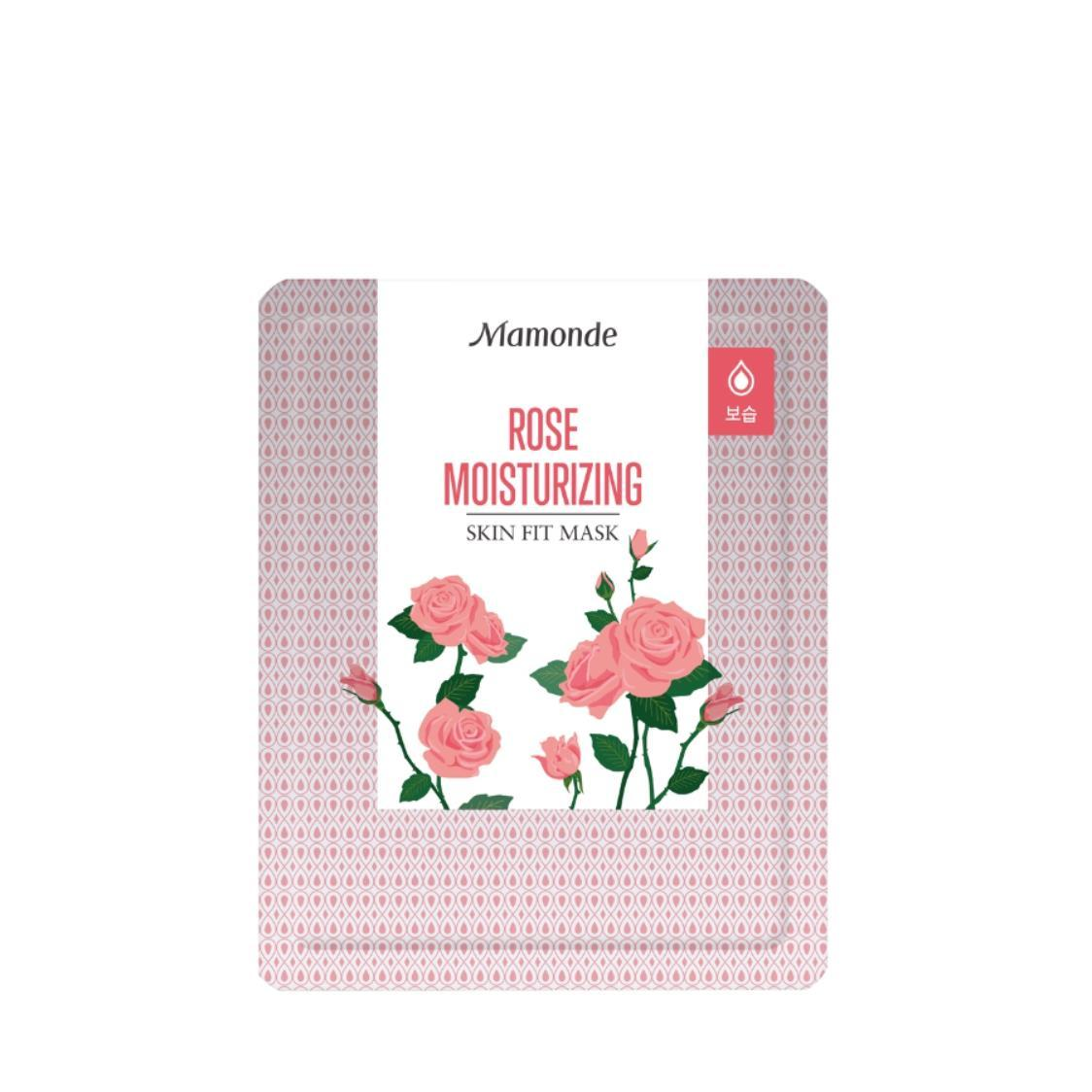 Skin Fit Mask-Rose 1 Sheet