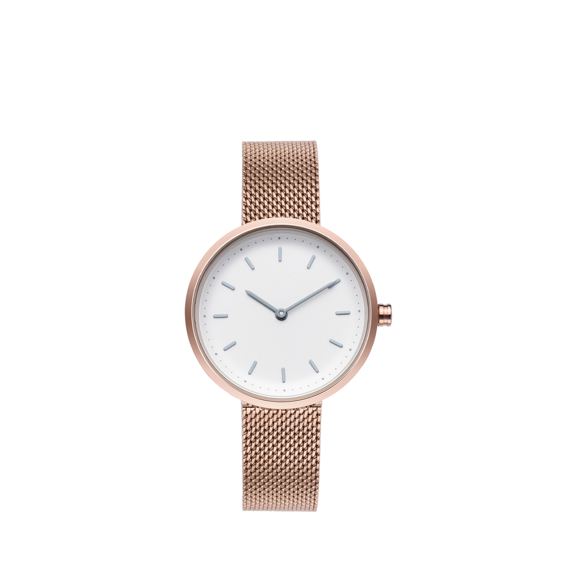 Conc 33 Rose Gold Stainless Steel Mesh
