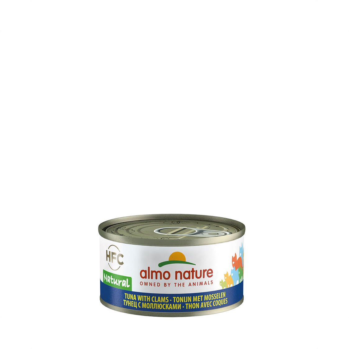 Tuna  Clams Cat Can 70g