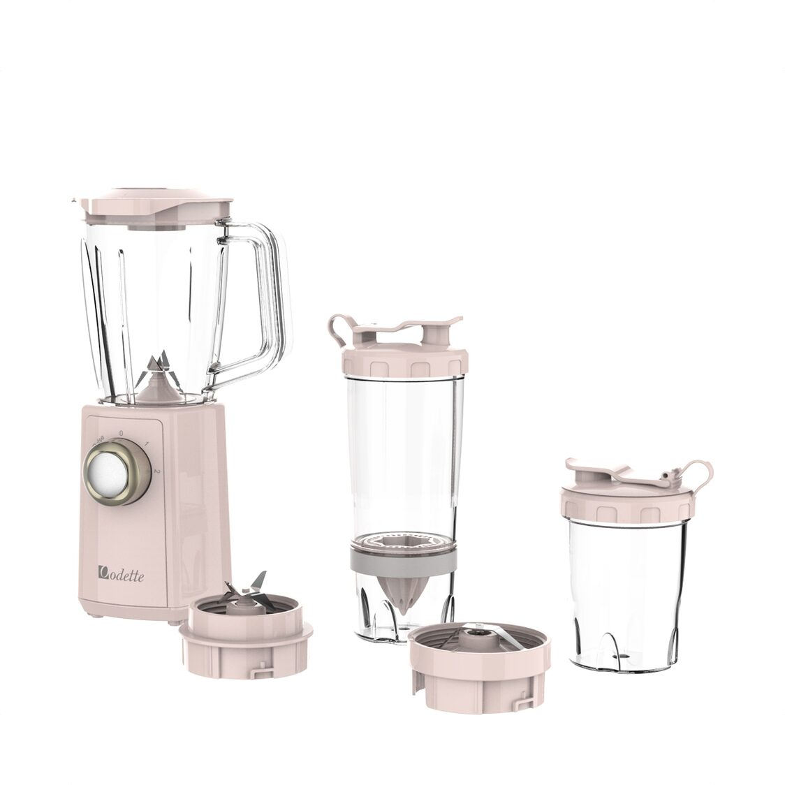 2 Speed Blender With Lemon Juicer And Grinder Pink UM1050S1N2-MC