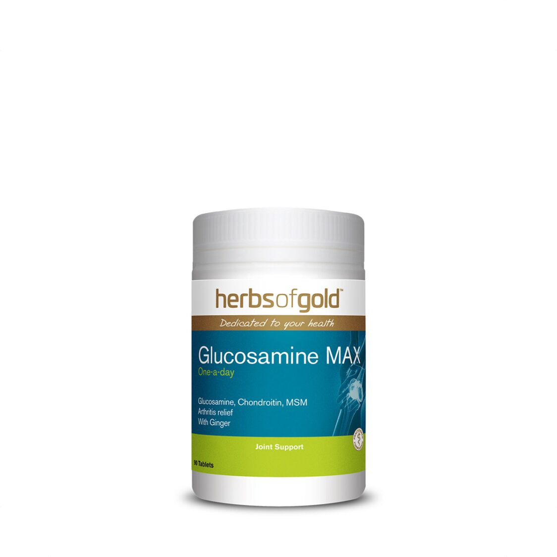 Herbs of Gold Glucosamine MAX 90 Tablets
