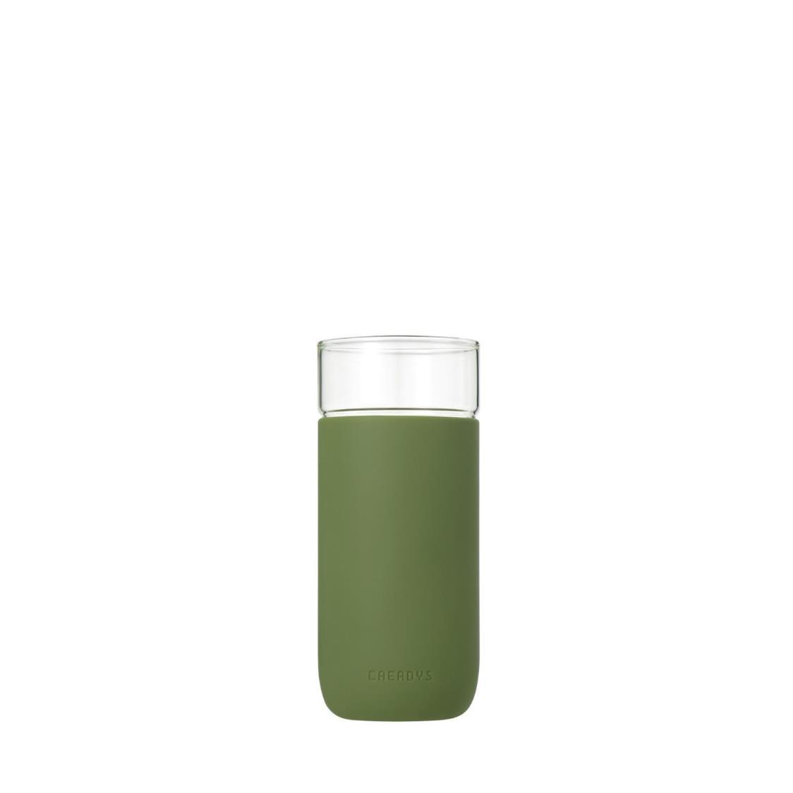 Classic Glass Tumbler Green L 380ml