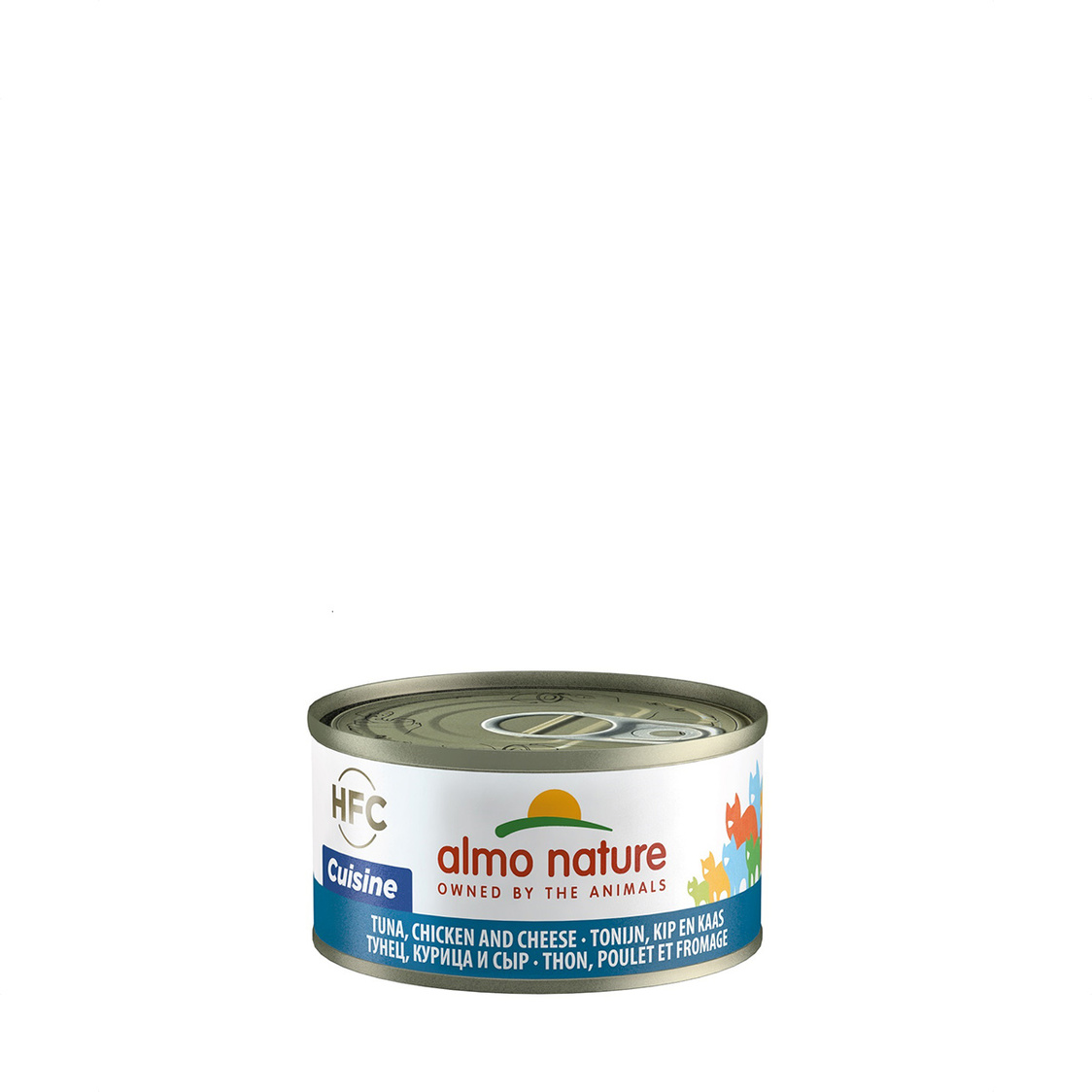 Tuna Chicken  Cheese Cat Can 70g