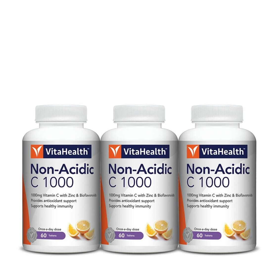 C Vita 1000 Non Acidic 3x60 Tablets