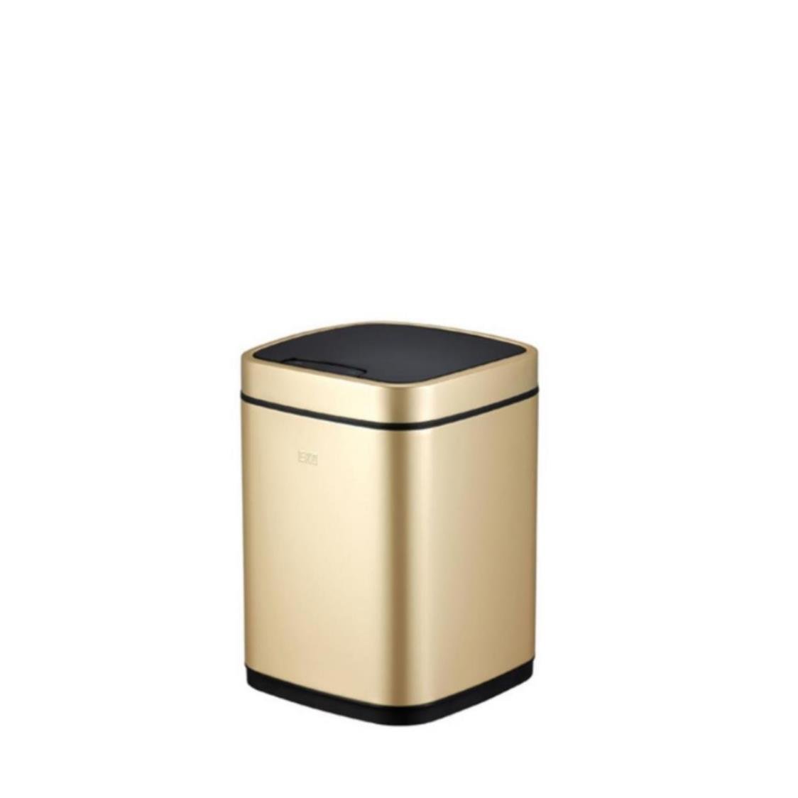 Square Motion Sensor Bin Cham Gold