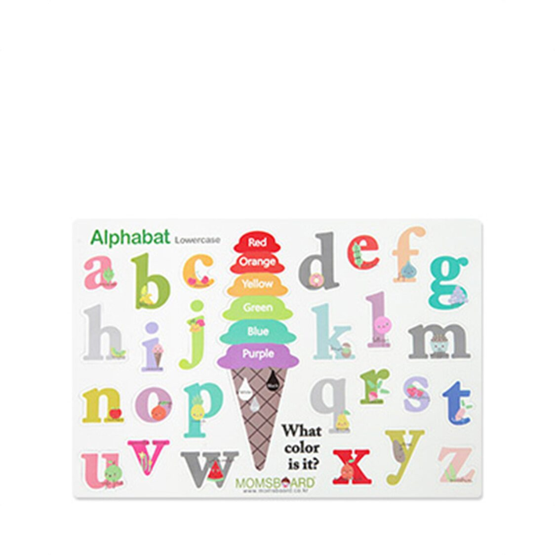 Magnetic Words - Lowercase
