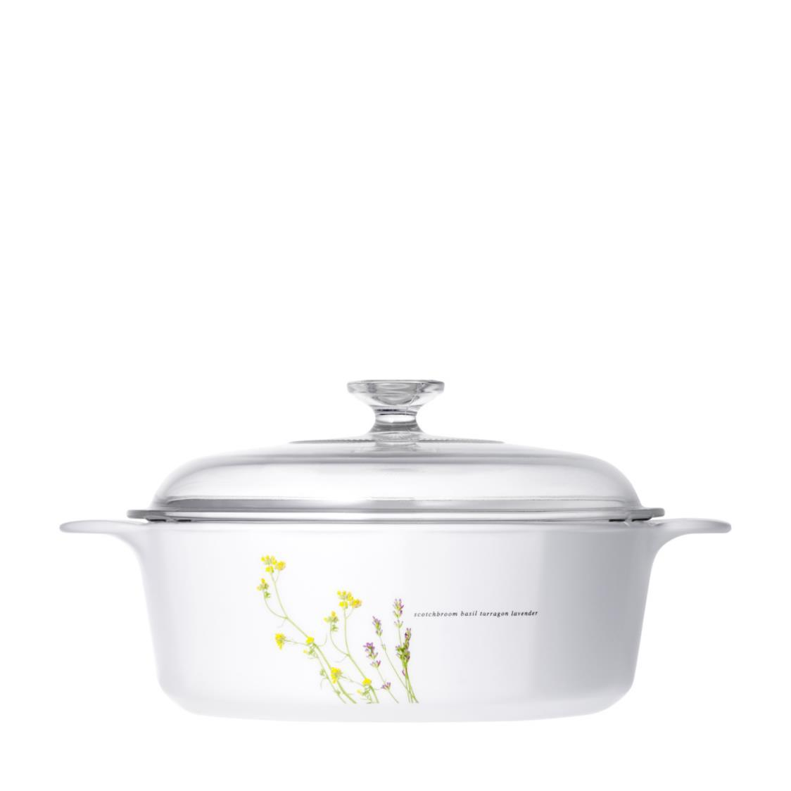 Covered casserole 325L