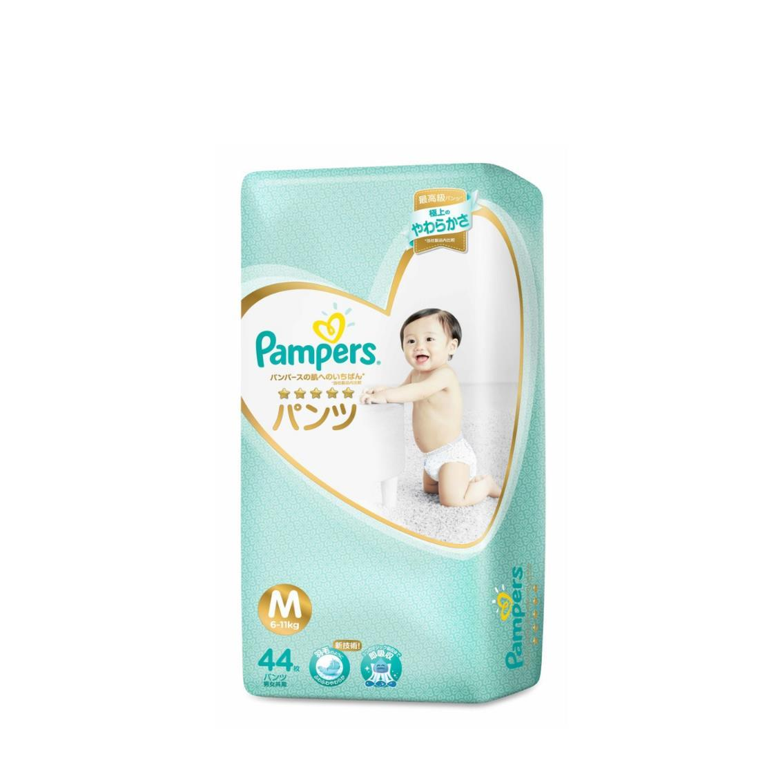 Pampers Premium Care Pants M 44s 6-10kg