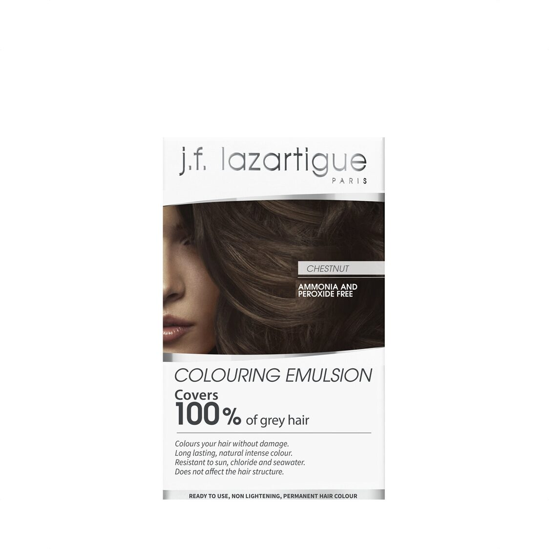 Colour Emulsions For Grey Hair Chestnut   60ml