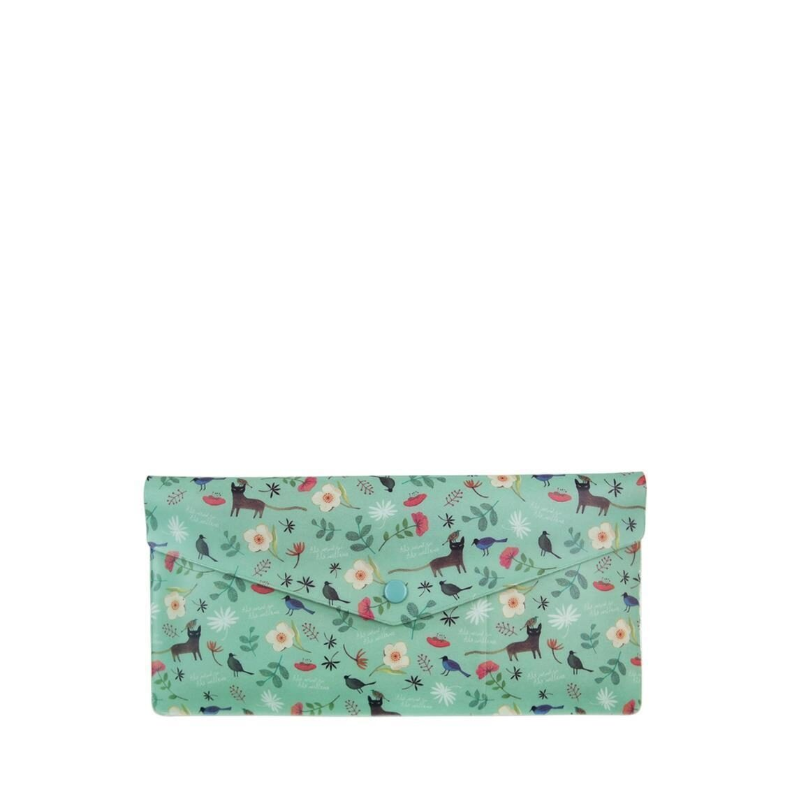 Willow Soft Passport Wallet Mint Cat