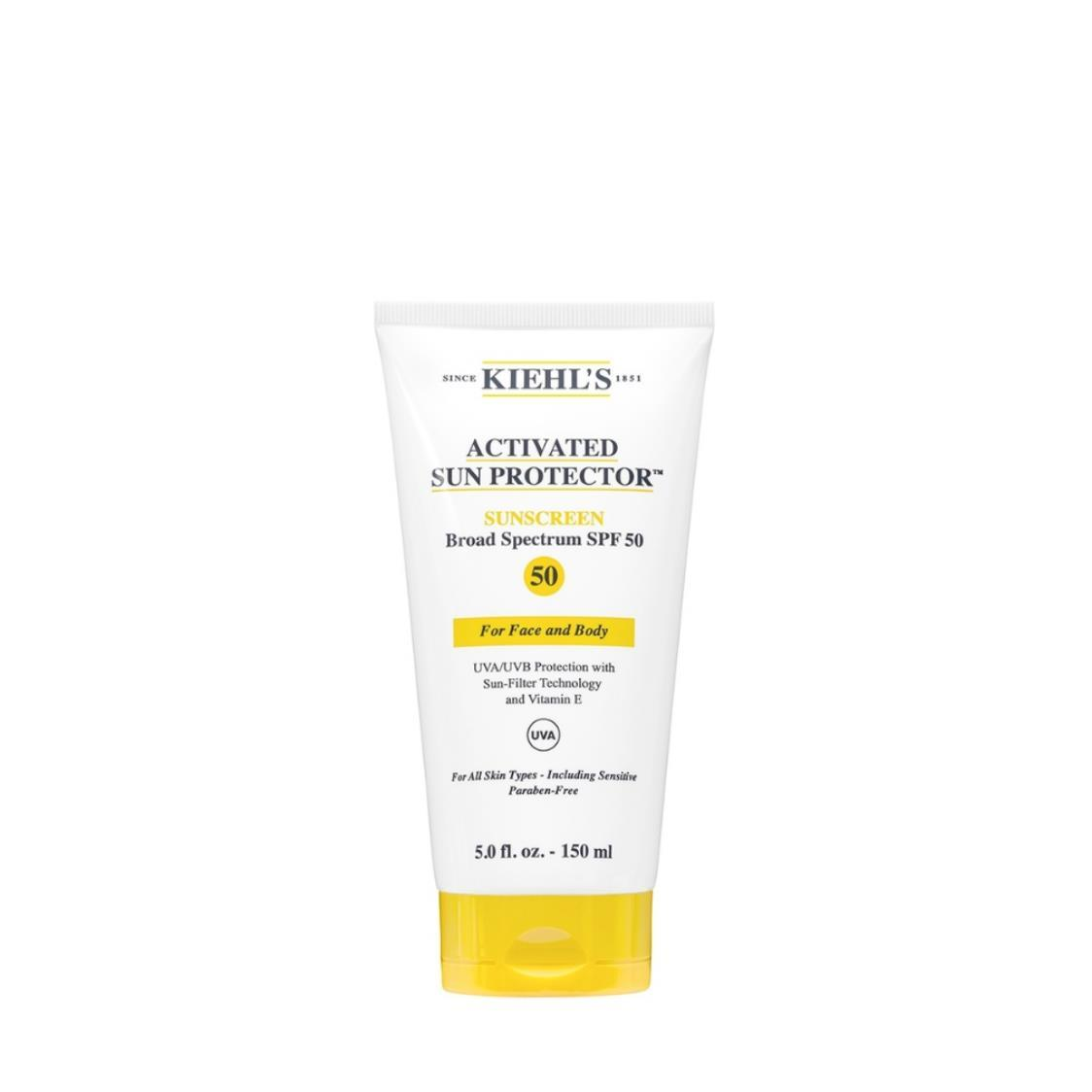 Kiehls Activated Sun Protector Sunscreen SPF 50