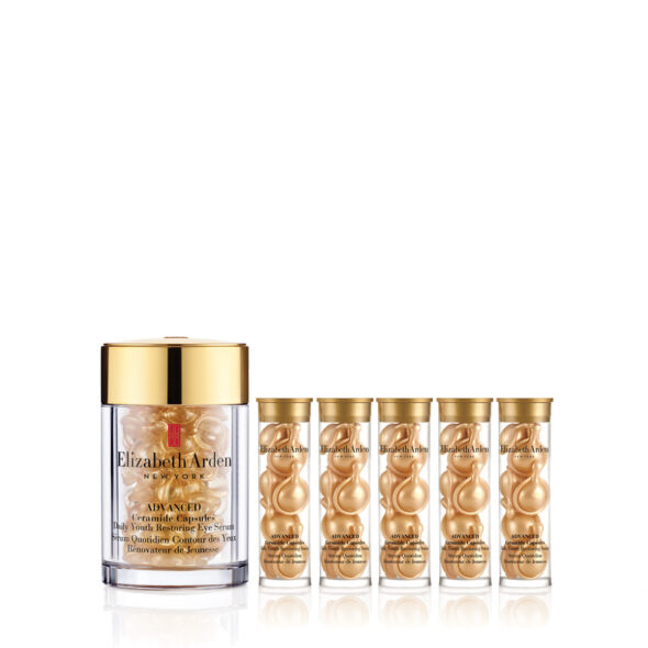 Elizabeth Arden Advance Ceramide Youth Restoring Eye and Face Capsules Twin Bundle worth 193
