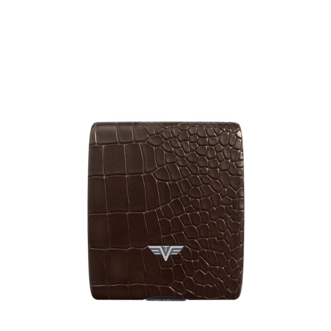 Wallet Money  Cards Croco Brown