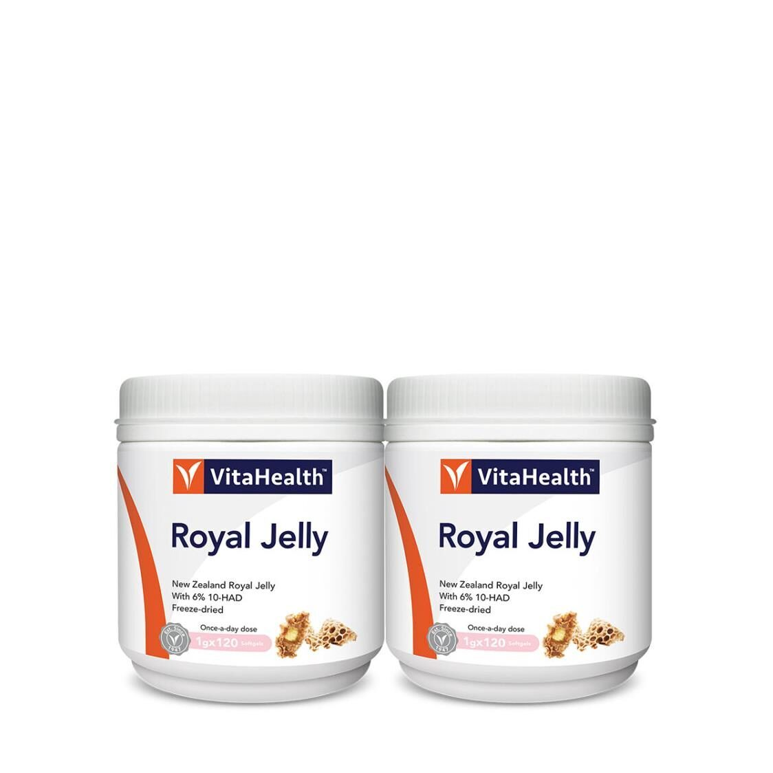 New Zealand Royal Jelly 2x120Softgels