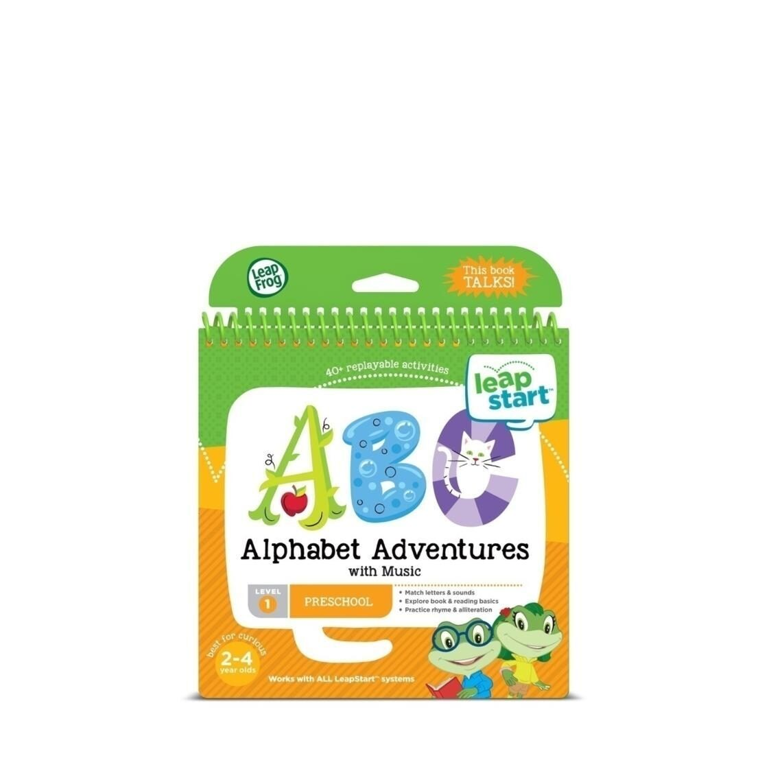 Leapstart Book Alphabet Adventures with Music