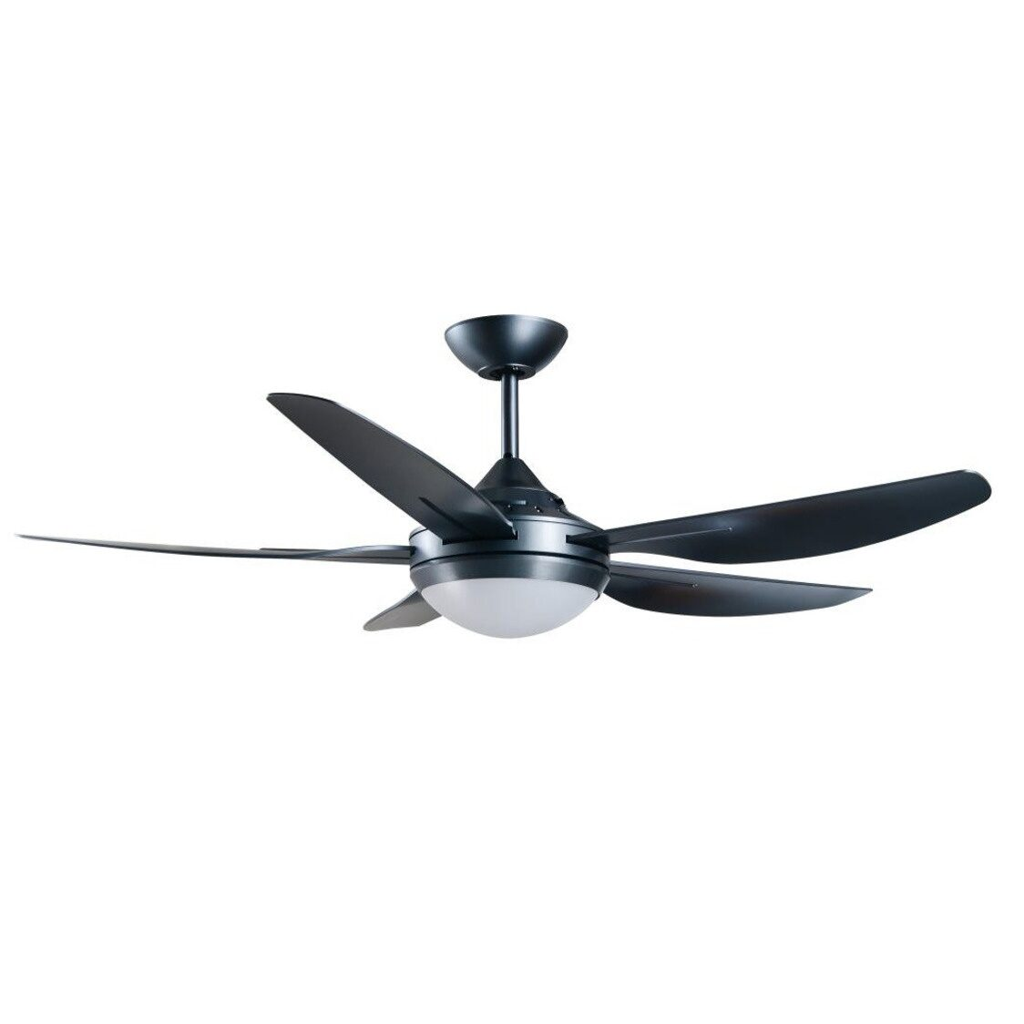 Mandurah Ceiling Fan With Remote And Tri-Color Led Light Kit Titanium 48