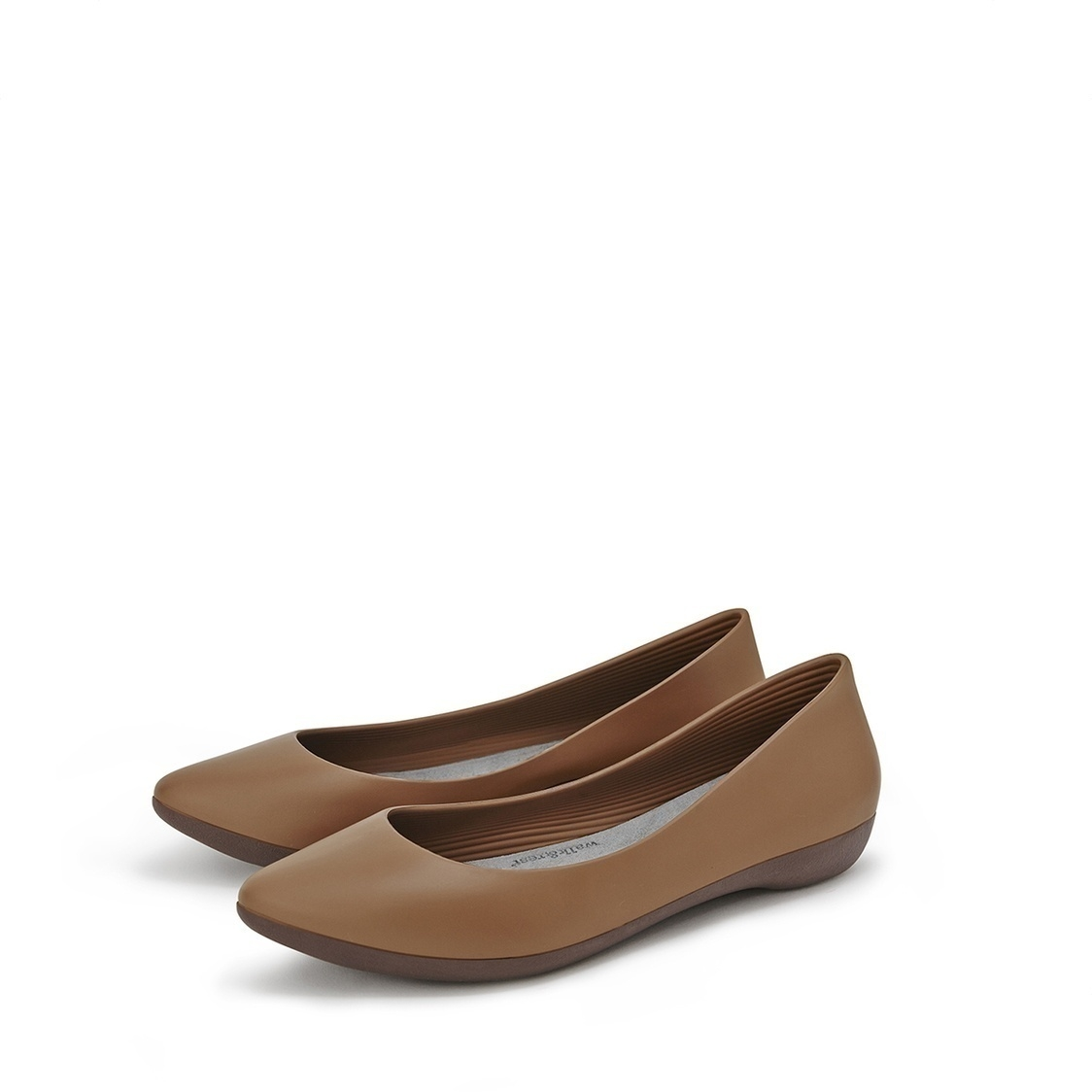 F2 Flat-Rounded Heel height 2cm Camel Brown