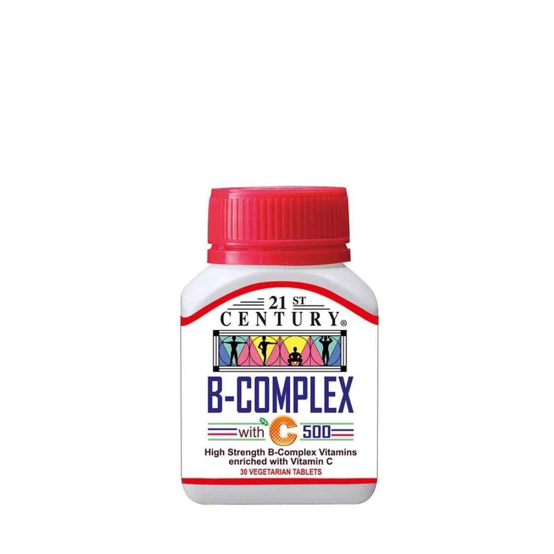 B Complex With C 500mg 30s