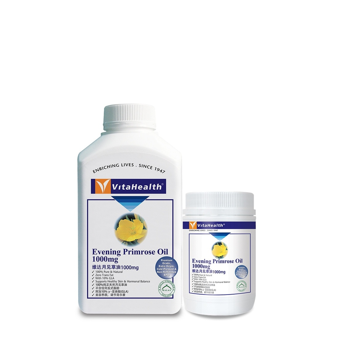 Evening Primrose Oil 400100 Softgels
