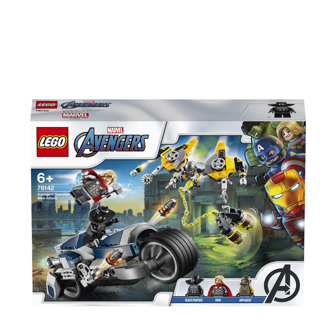 Avengers Speeder Bike Attack 76142