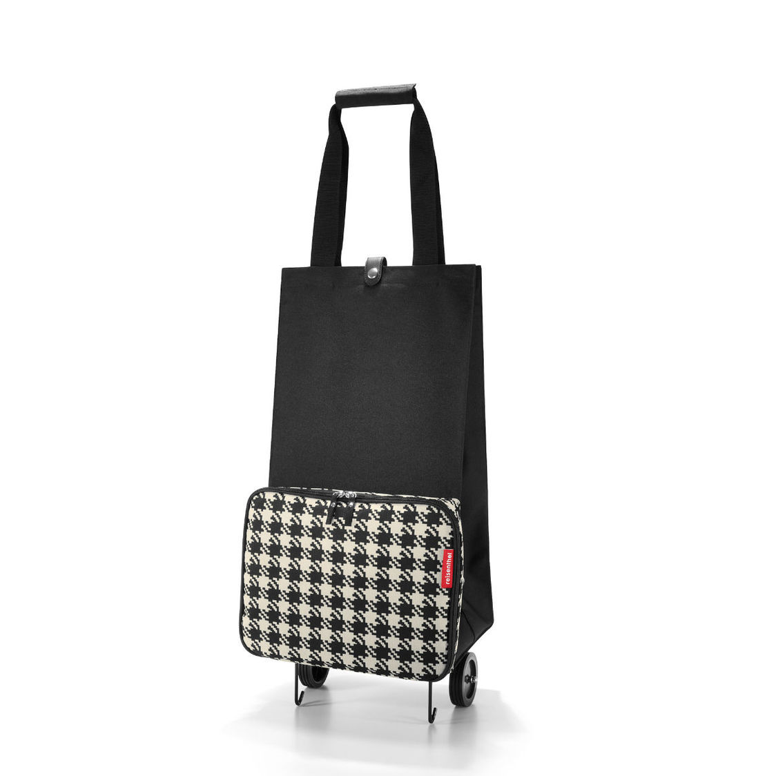 Foldable Trolley 50s Black