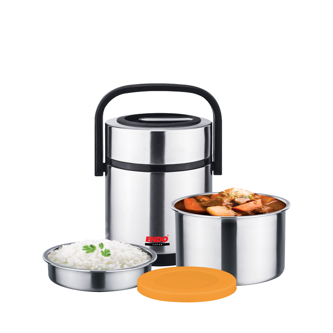 Endo 15L Double Stainless Steel Thermal Food Jar
